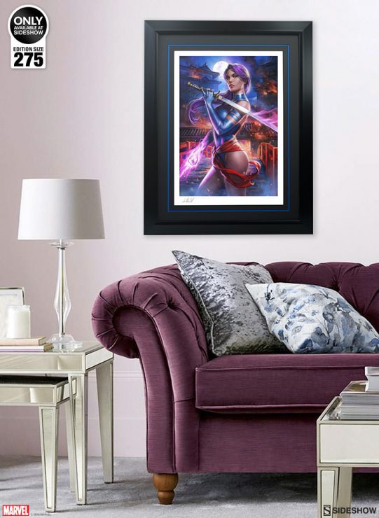 Psylocke Fine Art Print by Ian MacDonald