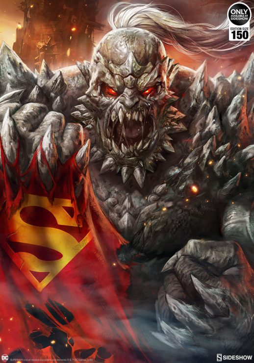 DC Comics Doomsday Fine Art Print