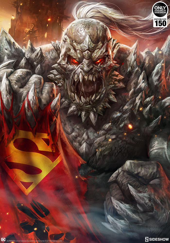 The Doomsday Fine Art Print Will Shake Your Dc Collection To The
