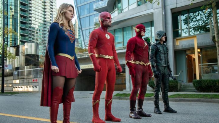 The CW Releases Extended Arrowverse Crossover Trailer