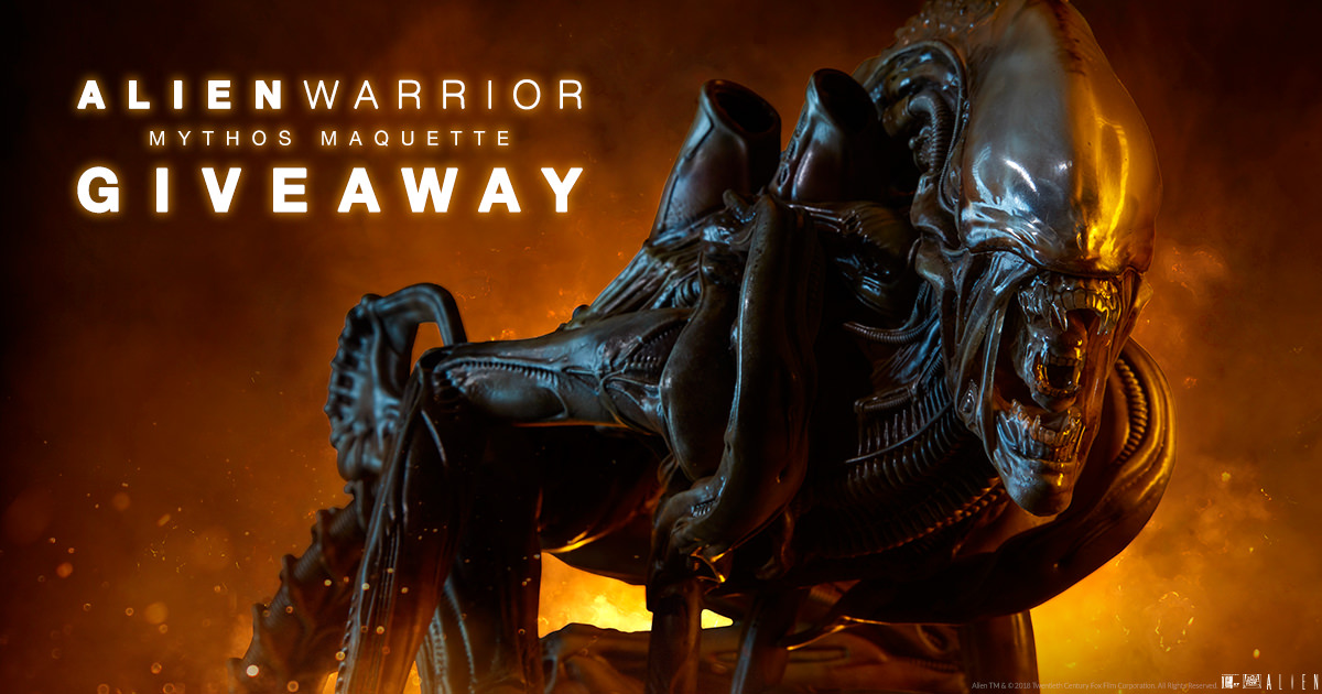 Alien Warrior Mythos Maquette Giveaway