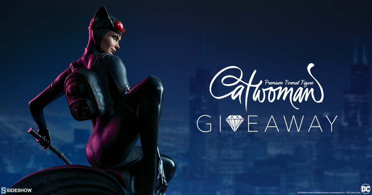 Catwoman Premium Format Figure Giveaway