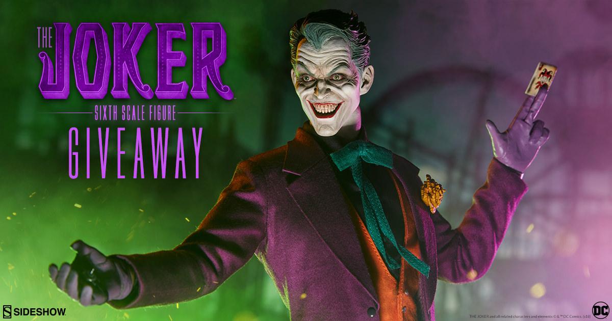 The Joker Sixth Scale Figure Giveaway