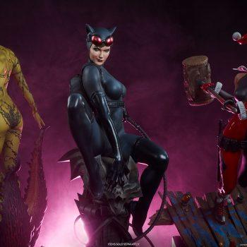 Catwoman DC Comics Gotham City Sirens Statues
