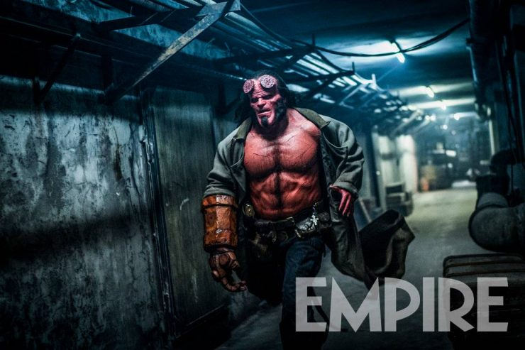 Empire Magazine Debuts New Image from Hellboy 2019