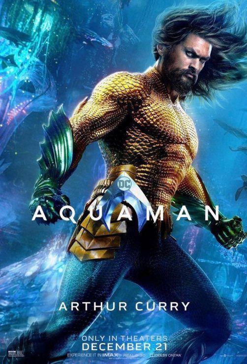 Warner Bros. Reveals New Aquaman Posters