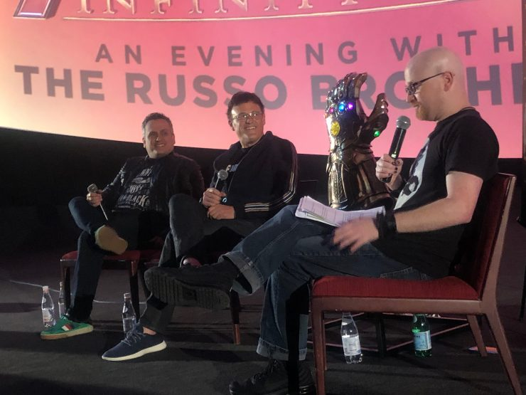 "The Russo Brothers and Steve ""Frosty"" Weintraub at the Collider Q&A"