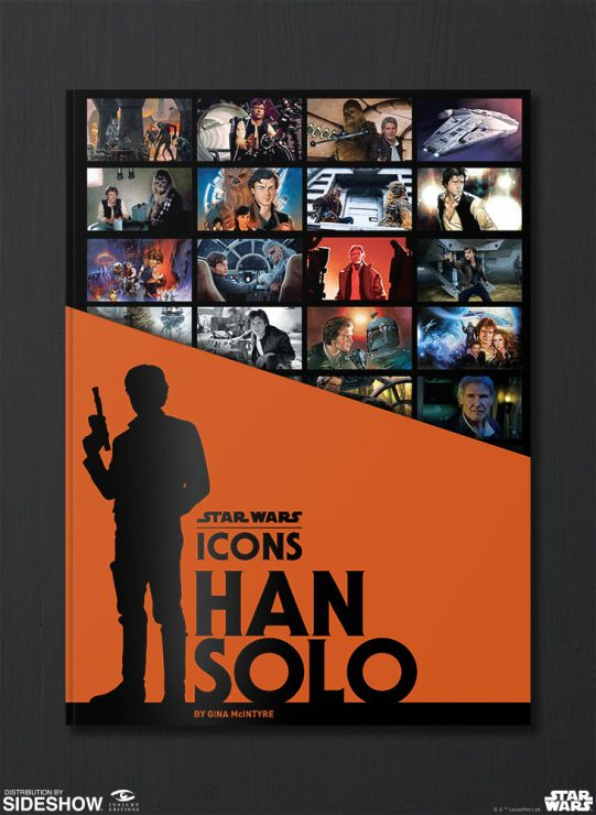 Get the Star Wars Icons: Han Solo Book in Hand for the Holidays- Only Through Sideshow!