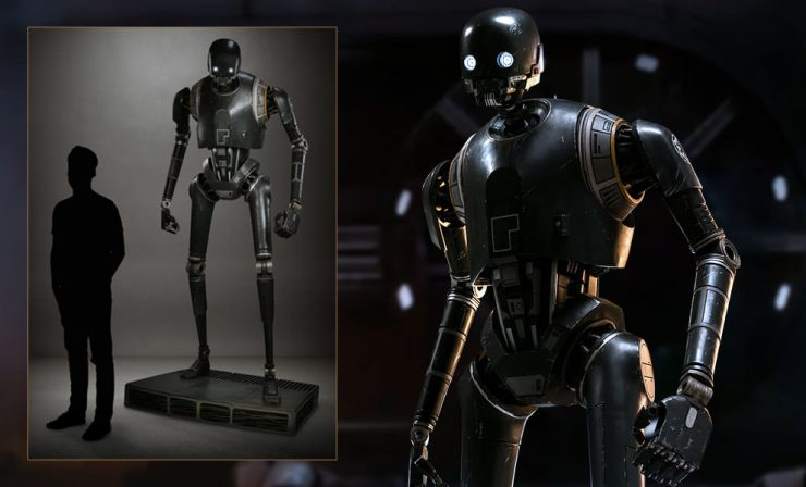 K-2SO Life-Size Figure