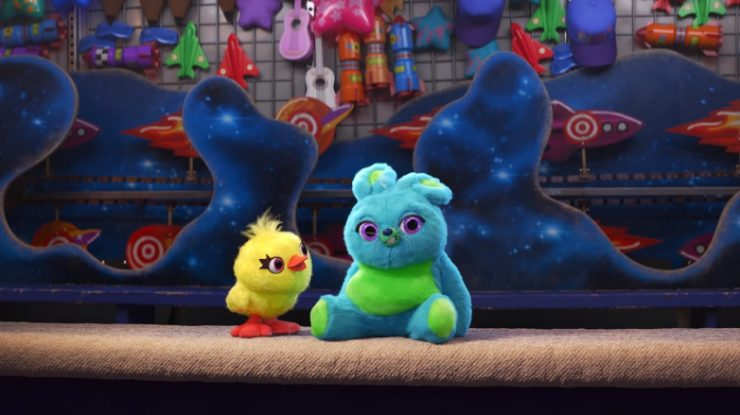 Toy Story 4 Teaser Reaction Introduces Ducky and Bunny