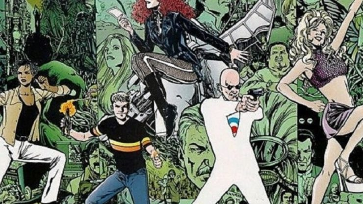 Grant Morrison Signs Deal with UCP to Develop Television and Streaming Series