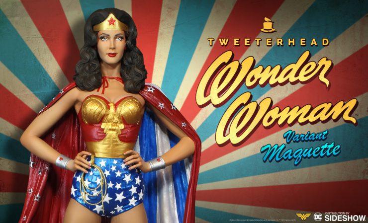 Tweeterhead Wonder Woman Variant Maquette