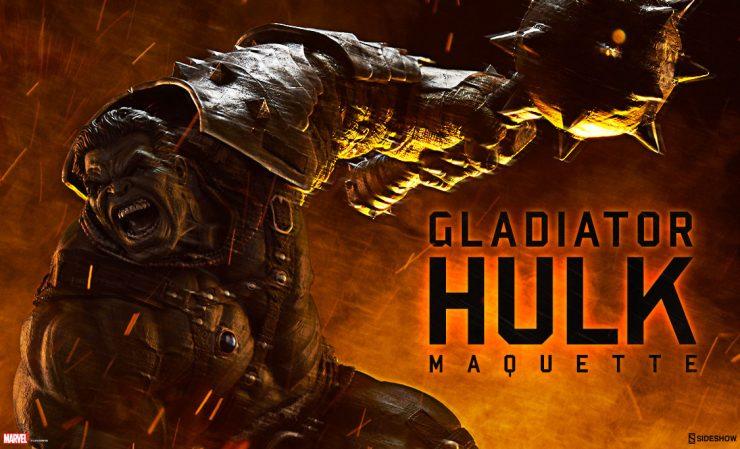 Gladiator Hulk Maquette
