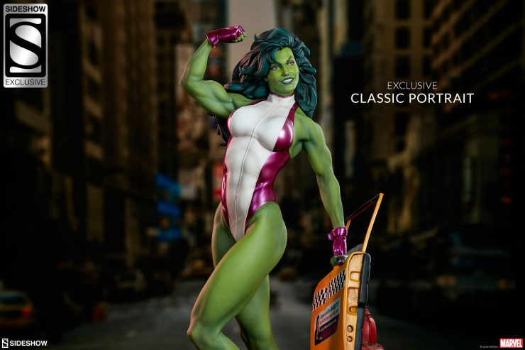 The She-Hulk Statue Makes a Sensational Addition to the Adi Granov Artist Series