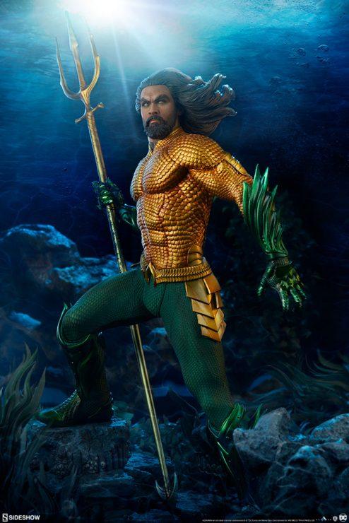 Aquaman Jason Momoa Premium Format Figure