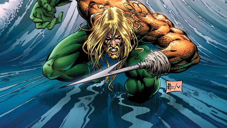Aquaman- Top 10 DC Characters with Environmental Powers