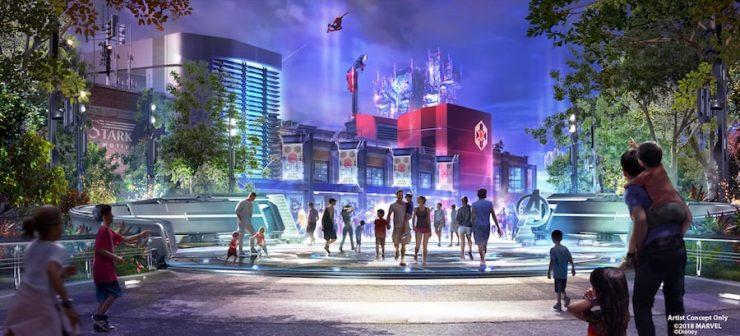 Disney Parks Blog Reveals Marvel Attractions Concept Art