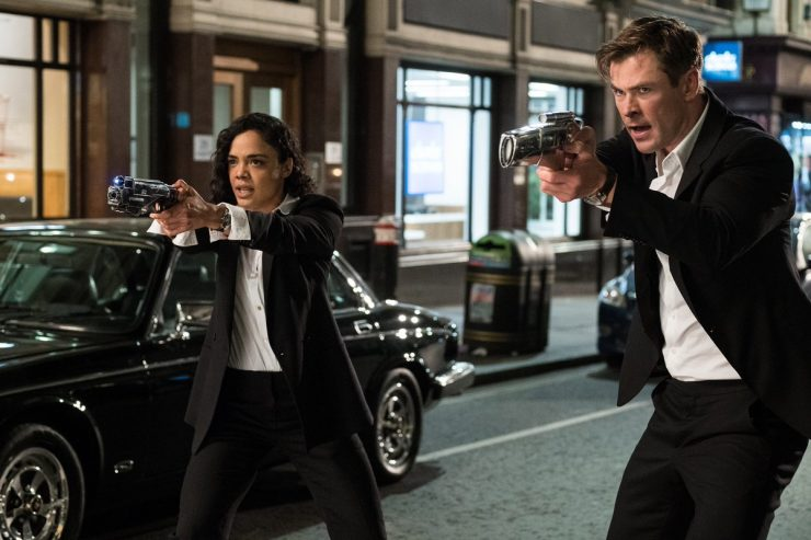Chris Hemsworth Drops Men in Black International Teaser Pic