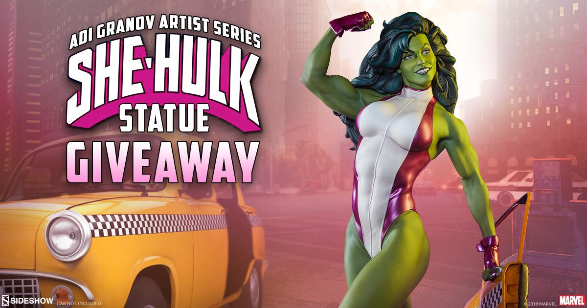 She-Hulk Statue Giveaway