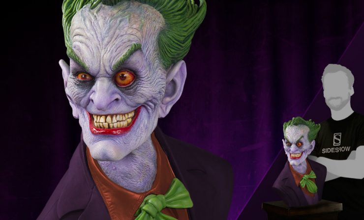 The Joker Standard Edition Life-Size Bust