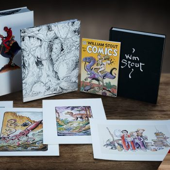 Fantastic Worlds: The Art of William Stout Collector Edition