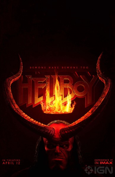 New Hellboy Posters Revealed, Trailer Coming Soon