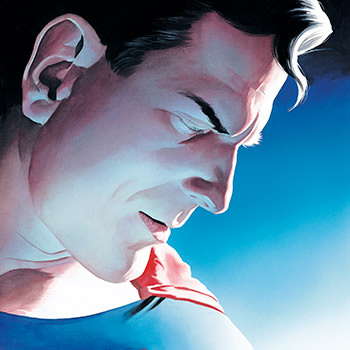 Alex Ross Superman Lithograph