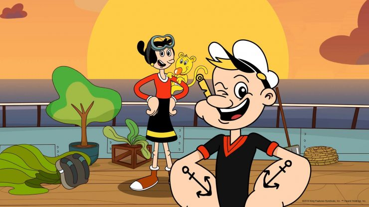 Popeye Gets 90th Anniversary Animated Reboot