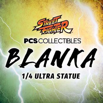 Blanka Ultra Statue