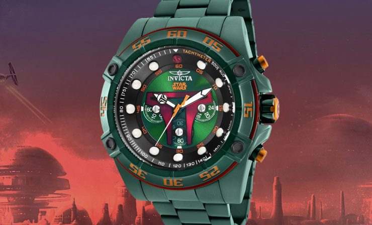 Star Wars Boba Fett Watch Model 26544 from Invicta
