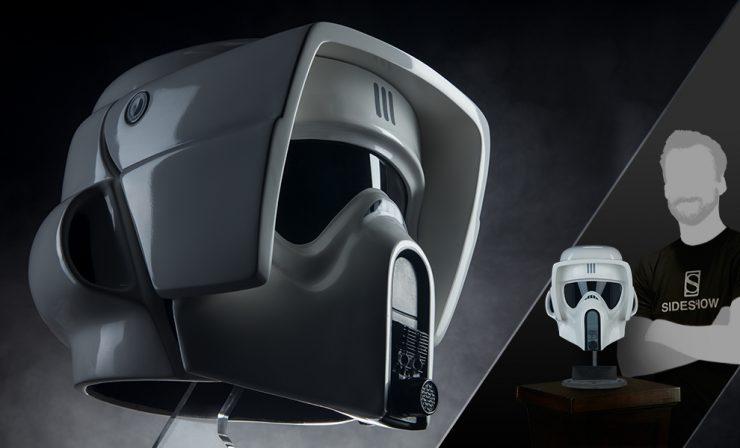 Scout Trooper Helmet Life-Size Replica
