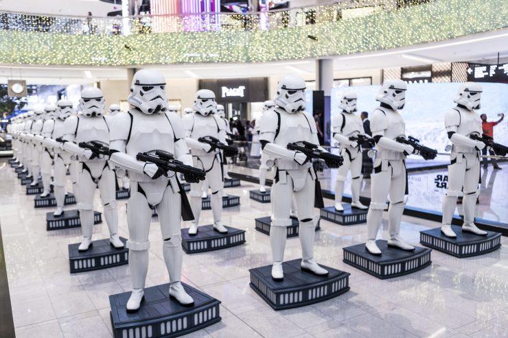 Star Wars- The Dubai Mall Exhibit