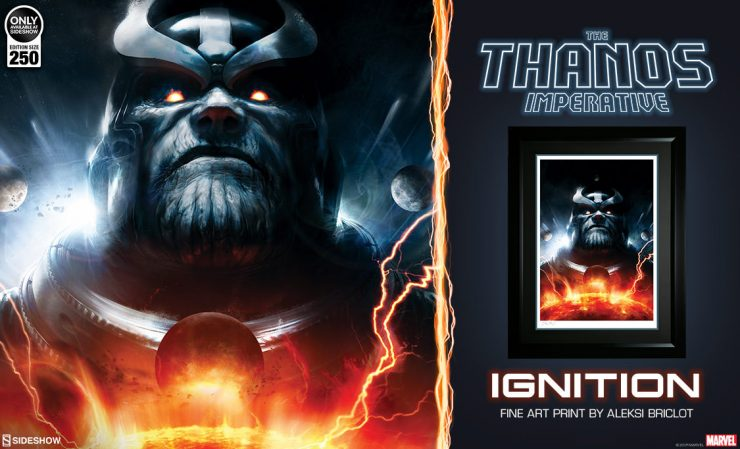 The Thanos Imperative Ignition Fine Art Print