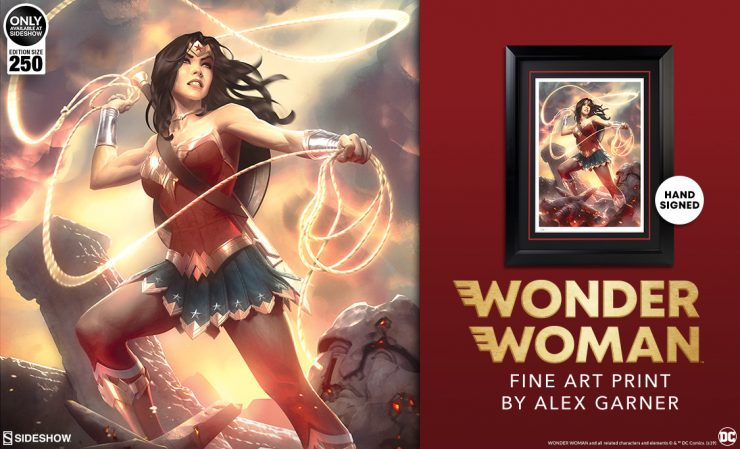 Wonder Woman Fine Art Print