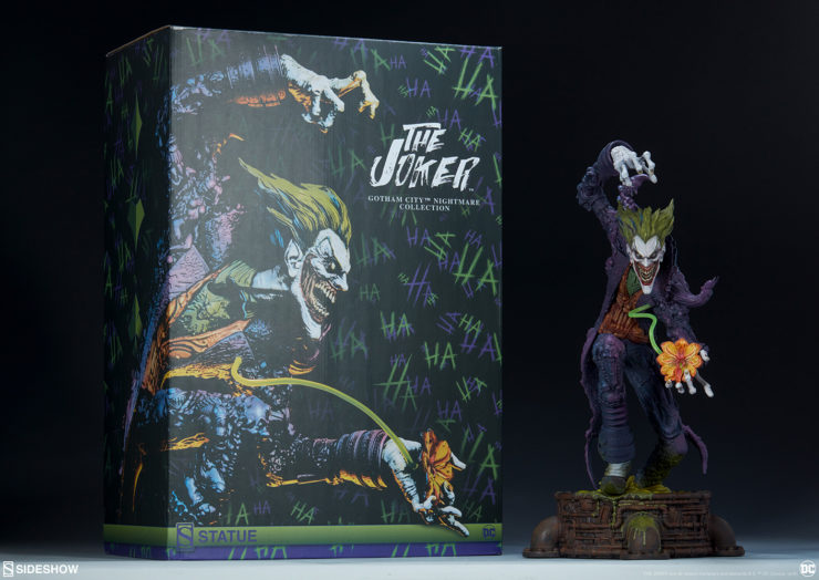 New Photos of The Joker Gotham City Nightmare Statue