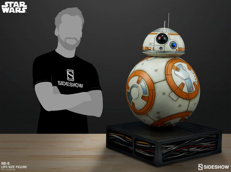 New Photos of the BB-8 Life-Size Figure Have Rolled In!