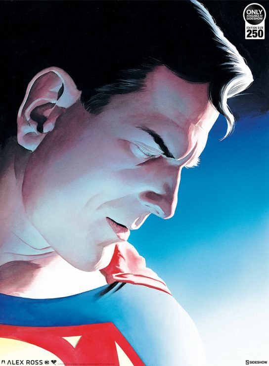 Superman: Peace on Earth Fine Art Lithograph by Alex Ross
