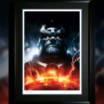 Thanos Imperative: Ignition Fine Art Print by Aleksi Briclot
