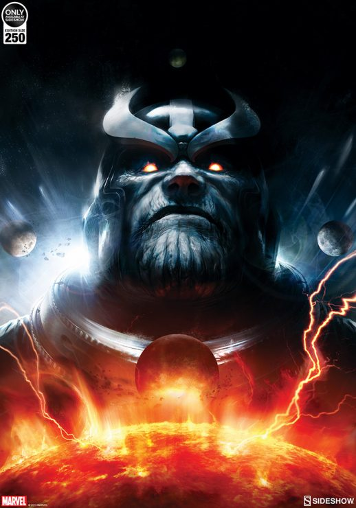Thanos Imperative: Ignition #1 Cover Art Print by Aleksi Briclot