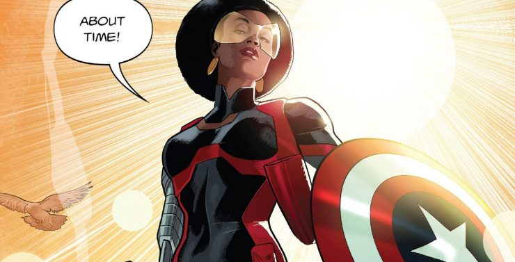 Misty Knight- Who Has Held the Shield?