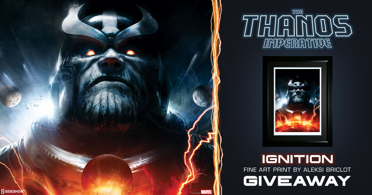The Thanos Imperative Ignition Fine Art Print Giveaway