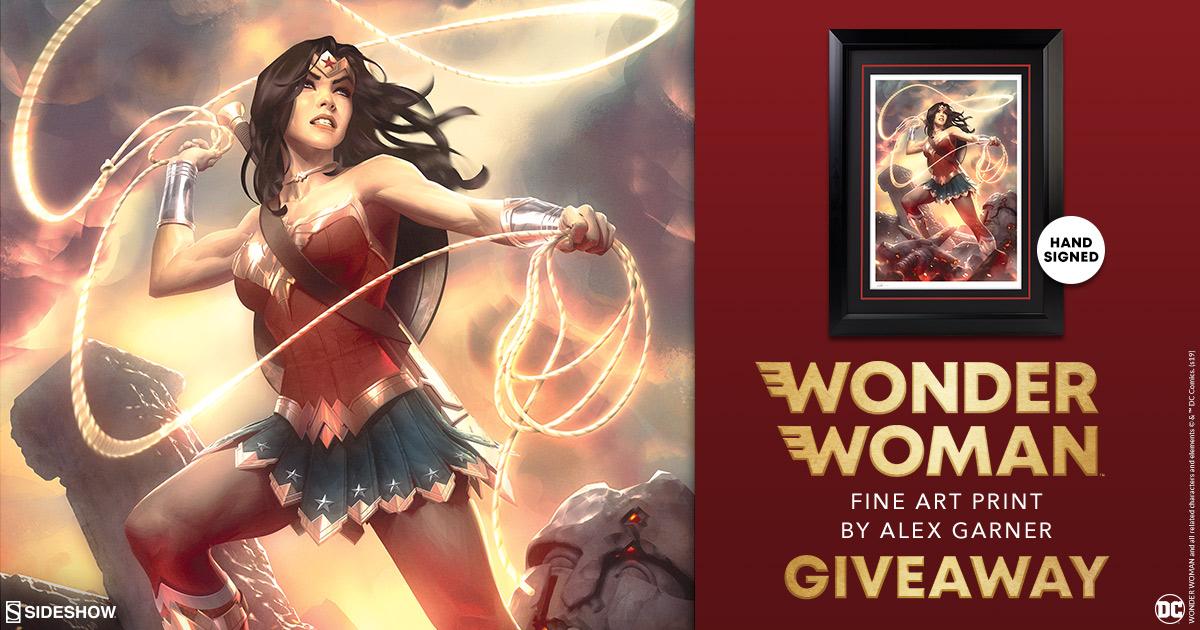 Wonder Woman Fine Art Print Giveaway