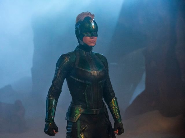 Marvel Shows Captain Marvel in Starforce Uniform