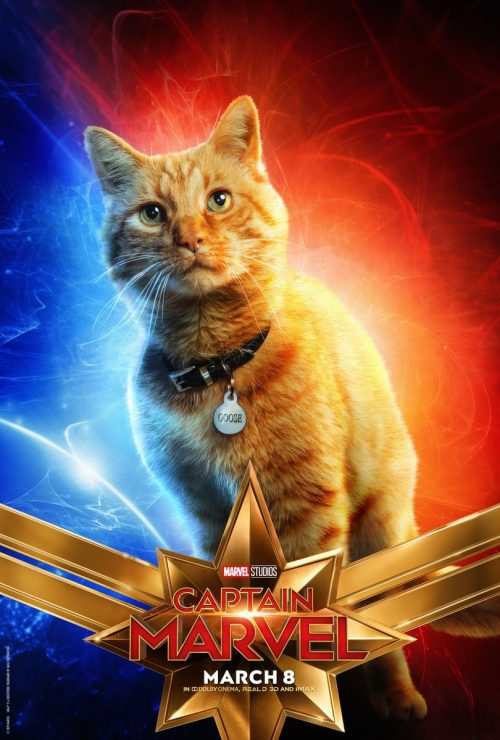 Marvel Studios Debuts New Captain Marvel Character Posters