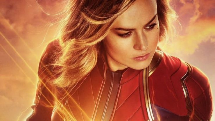 New Captain Marvel Special Look Footage Goes Higher, Further, Faster
