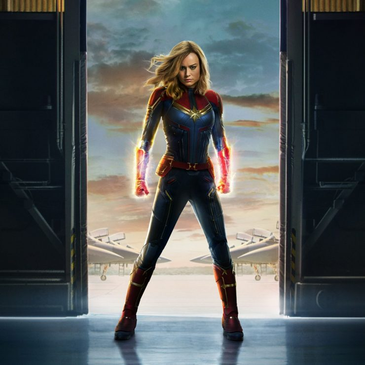 New Captain Marvel Special Look to Air During College Football Championship