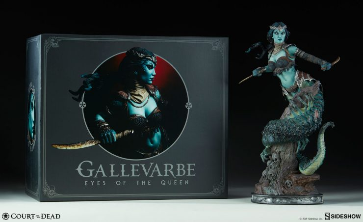 Check Out New Photos of the Gallevarbe Eyes of the Queen Premium Format Figure!