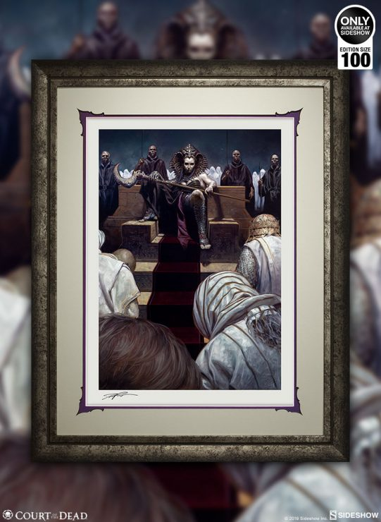 Cleopsis Reigns in The Price of Power Fine Art Print by David Palumbo