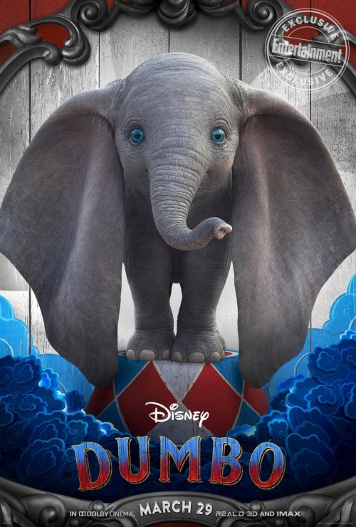 Disney Unveils New Dumbo Character Posters