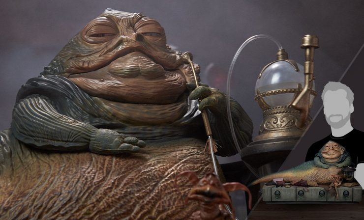 The Illustrious Jabba The Hutt Bids You Welcome to His New Photos!